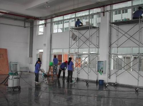 惠州保洁开荒保洁的一般作业流程