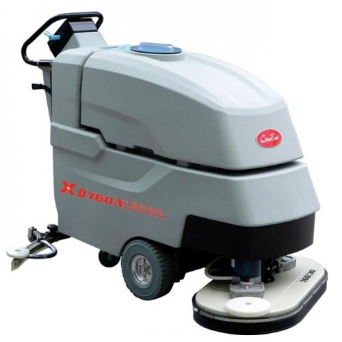 清洗工程自动双刷洗地机