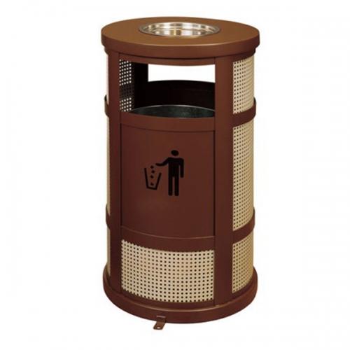 BX-B263 惠州保洁户外冲孔垃圾桶