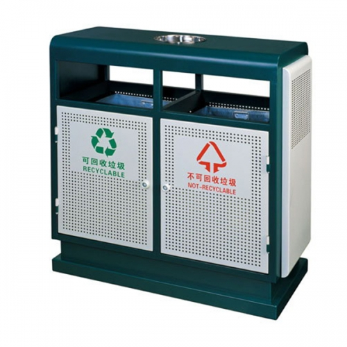 BX-B261 清洗工程分类环保垃圾桶