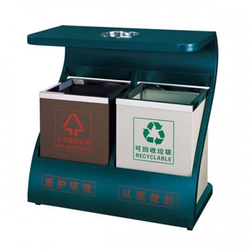 BX-B255 清洗工程分类环保垃圾桶