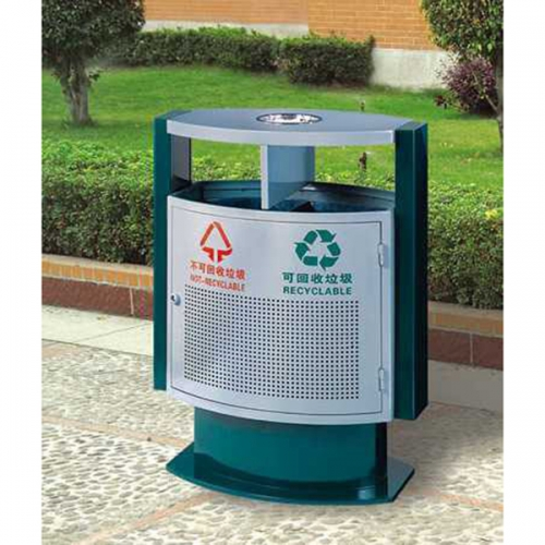 BX-B248 清洗工程分类环保垃圾桶