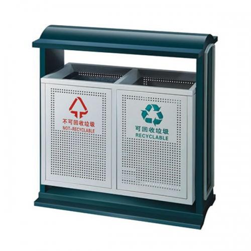 BX-B245 清洗工程分类环保垃圾桶