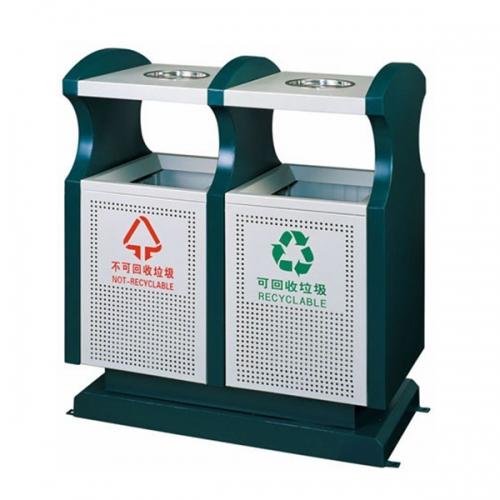 BX-B240 清洗工程分类环保垃圾桶