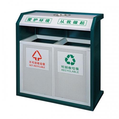 BX-B238 惠州保洁分类环保垃圾桶