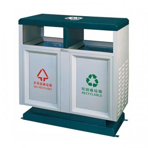 BX-B237 清洗工程分类环保垃圾桶