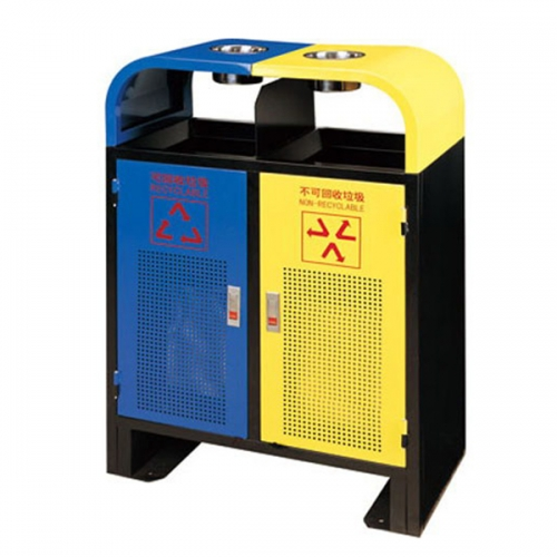 BX-B235 惠州保洁分类环保垃圾桶