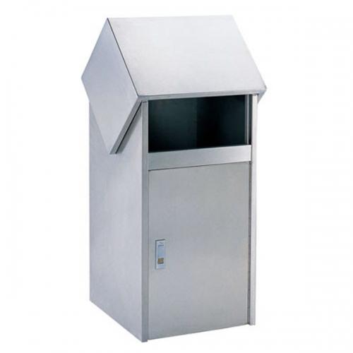 下角BX-B215清洗工程屋型垃圾桶